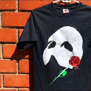 Vtg '86 Phantom Of The Opera Broadway Promo Tee